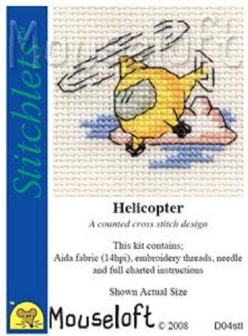 Mouseloft Stitchlets Helicopter